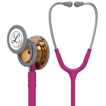 Classic III Stethoskop 5647 himbeerrot 3M Littmann Limited Edition in poliertem Kupfer